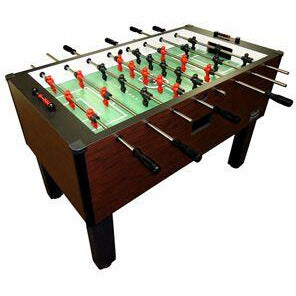 Shelti Pro Foos II Mahagony Laminate w/ 3 Man Goalie Foosball Table (CS-B-FM)