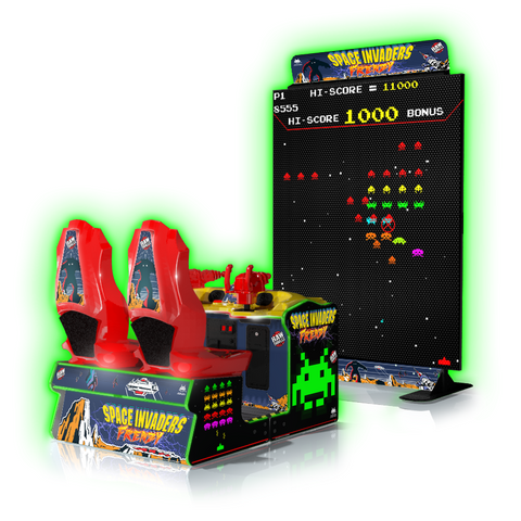 Raw Thrills Space Invaders Arcade Game (SPACEI-ARC)