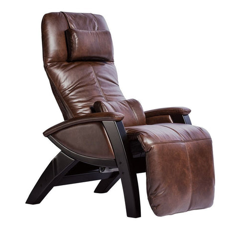 Svago ZGR Plus Chestnut/Black Wood Zero Gravity Recliner (SV395-87-BL)