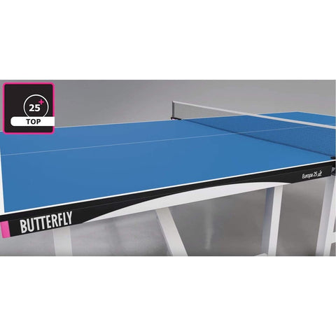 Butterfly Europa 25 Blue Table Tennis (TEU25BL)