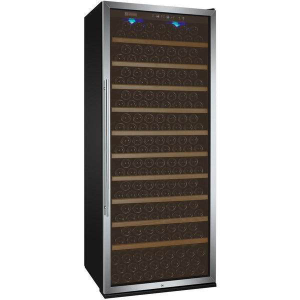 "Allavino 32"" Wide Vite II Tru-Vino 277 Bottle Single Zone Stainless Steel Right Hinge Wine Refrigerator (YHWR305-1SR20)"