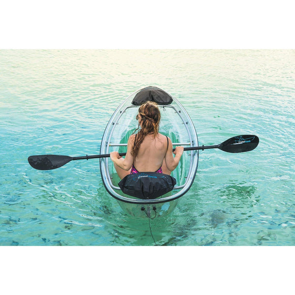 Crystal Clear Kayak with Deluxe Paddle (CKC1)
