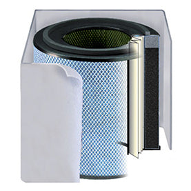 Austin Air White Bedroom Air Purifier Filter (FR402B)