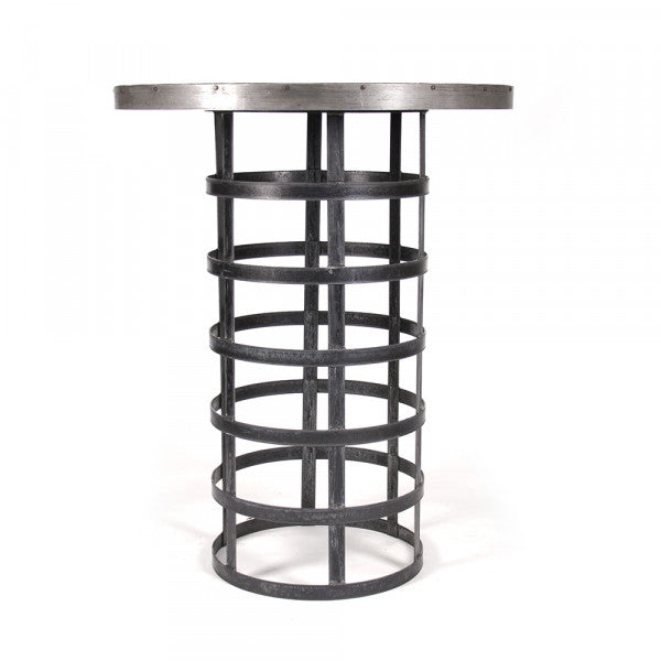 Zentique Rustic Metal Bar Table (1018)