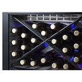 "Summit Appliance 24"" Wide Single Zone Outdoor Commercial Wine Cellar (SCR611GLOSX)"