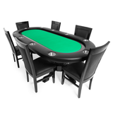 "BBO Elite 94"" Sunken Playing Surface Poker Table Black (2BBO-ELT)"