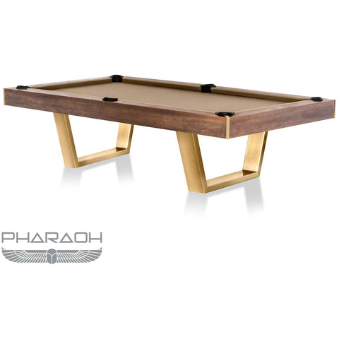 Pharaoh USA Galaxy Billiards Table - American Walnut & Camel (GALBI-D-WC)