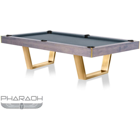 Pharaoh USA Galaxy Billiards Table - Cloudy Blue & Steel Gray (GALBI-D-BG)