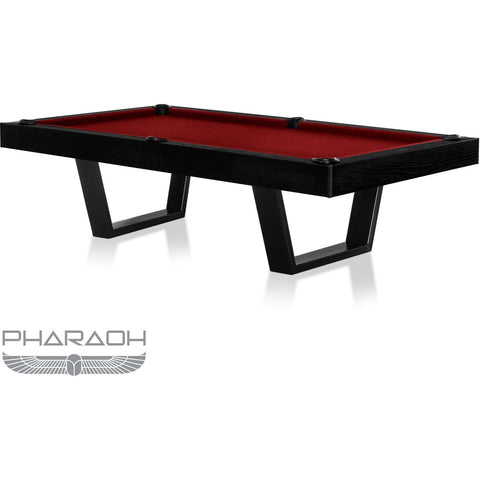 Pharaoh USA Galaxy Billiards Table - Piano Black & Red (GALBI-D-BR)