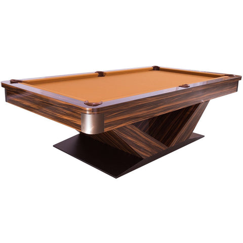 Pharaoh USA Luxor Billiards Table - Silkwood Brown & Camel (LUXBI-D-SWBC)