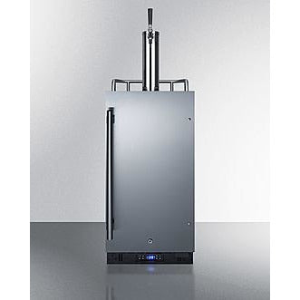 "Summit Appliance 15"" Wide Stainless Steel Wine Dispenser (SBC15WK)"