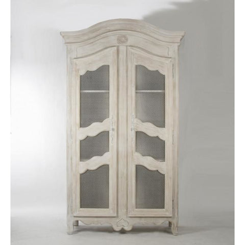 Zentique Christopher White China Cabinet (LIVIMA-S8-12-18 White)