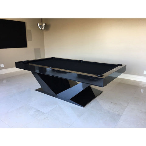 Pharaoh USA Luxor Billiards Table - Black on Black (LUXBI-D-BLK)