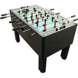 Gold Standard Game Charcoal Black Home Foosball Table (GSG-PROII-CM-CB)