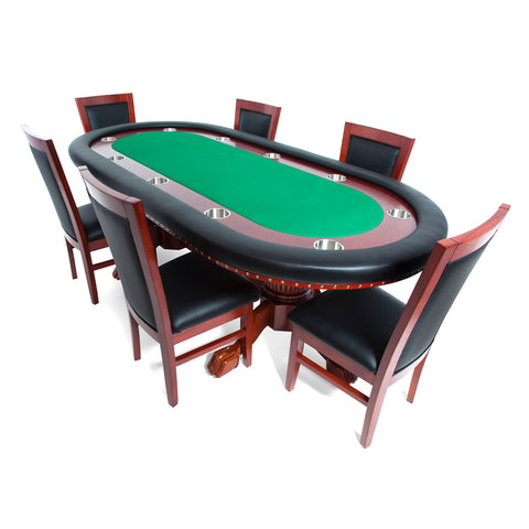 BBO The Rockwell Classic Mahogany Poker Table (2BBO-RW)