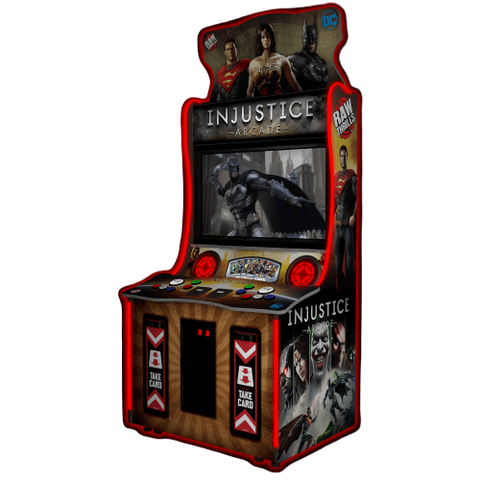 "Raw Thrills Injustice 43"" Arcade Game (INJ43-ARC)"