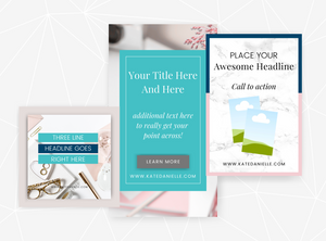 Elegant | Set of 30 Canva Templates