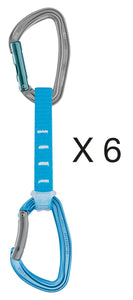 Petzl - Djinn Axess - X6 Quickdraws - Climb Source