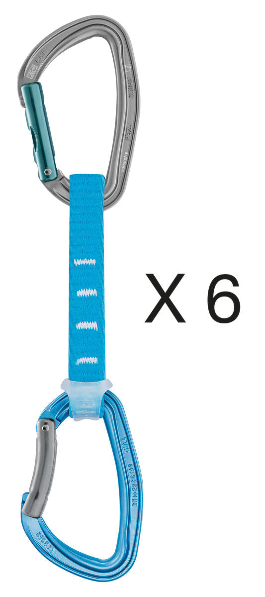 Petzl - Djinn Axess - X6 Quickdraws