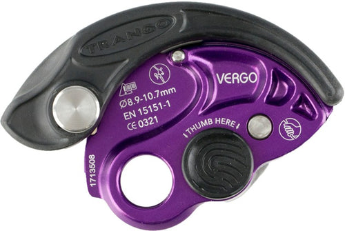 Trango: Vergo - Belay Device - Climb Source