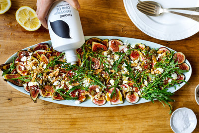 Fig Carpaccio with roasted walnuts