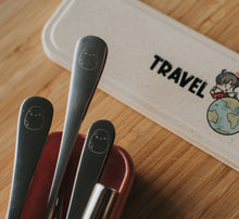 Load image into Gallery viewer, Beige Travel Cutlery Set - Chonnyday