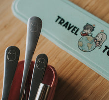 Load image into Gallery viewer, Green Travel Cutlery Set - Chonnyday