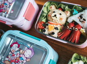 Time to Eat Lunch box (PINK) - Chonnyday