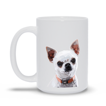 Load image into Gallery viewer, Personalized Pet White Mug - Graphic Photo
