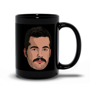 Personalized Black Mug - Graphic Picture