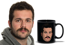 Load image into Gallery viewer, Personalized Black Mug - Graphic Picture