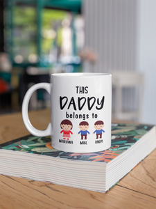 Personalized Premium Daddy / Mommy Mug