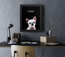 Load image into Gallery viewer, Pet Photo Frame - Black Background