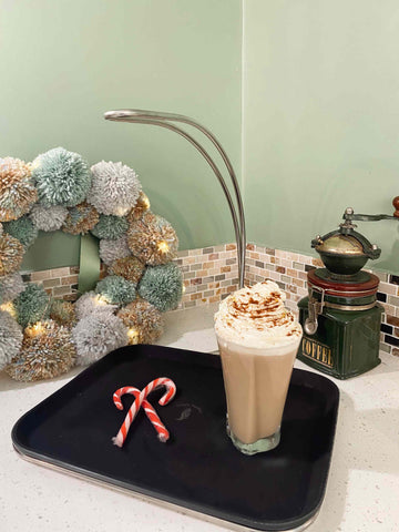 Homemade Gingerbread Latte Single Handed