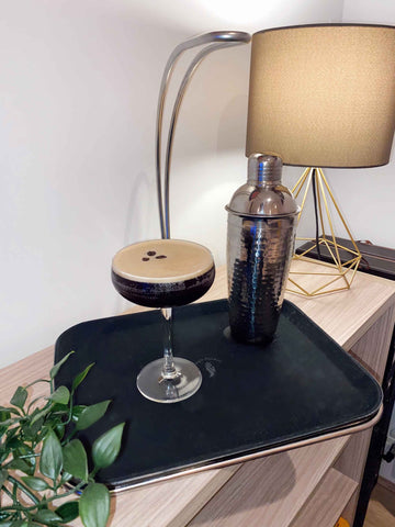 Homemade Espresso Martini Single Handed