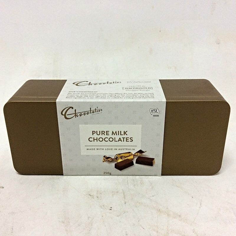 Chocolatier Pure Milk Chocolates 250gm