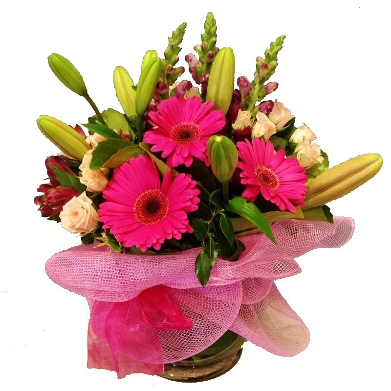 Lily and Gerbera Posy