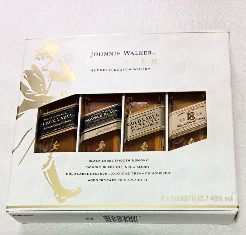 Johnnie Walker Mini Bottles