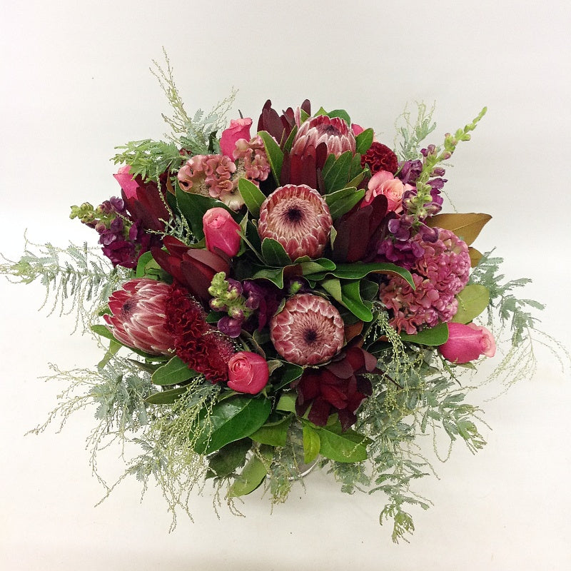 Mixed Rose and Native Bouquet
