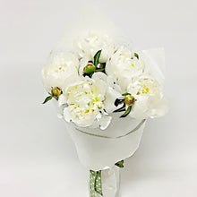Load image into Gallery viewer, White Peony Bunch