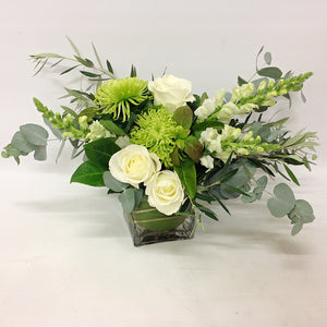 White and Wild Arrangement