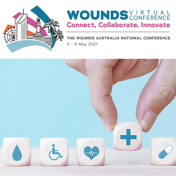 Proudly Exhibiting in Wounds 2021