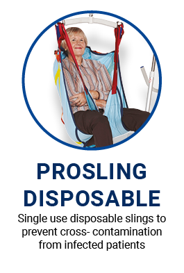 Prosling disposable slings to prevent cross-contamination