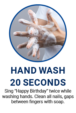 Thorough hand wash is the first step to better infection control at home