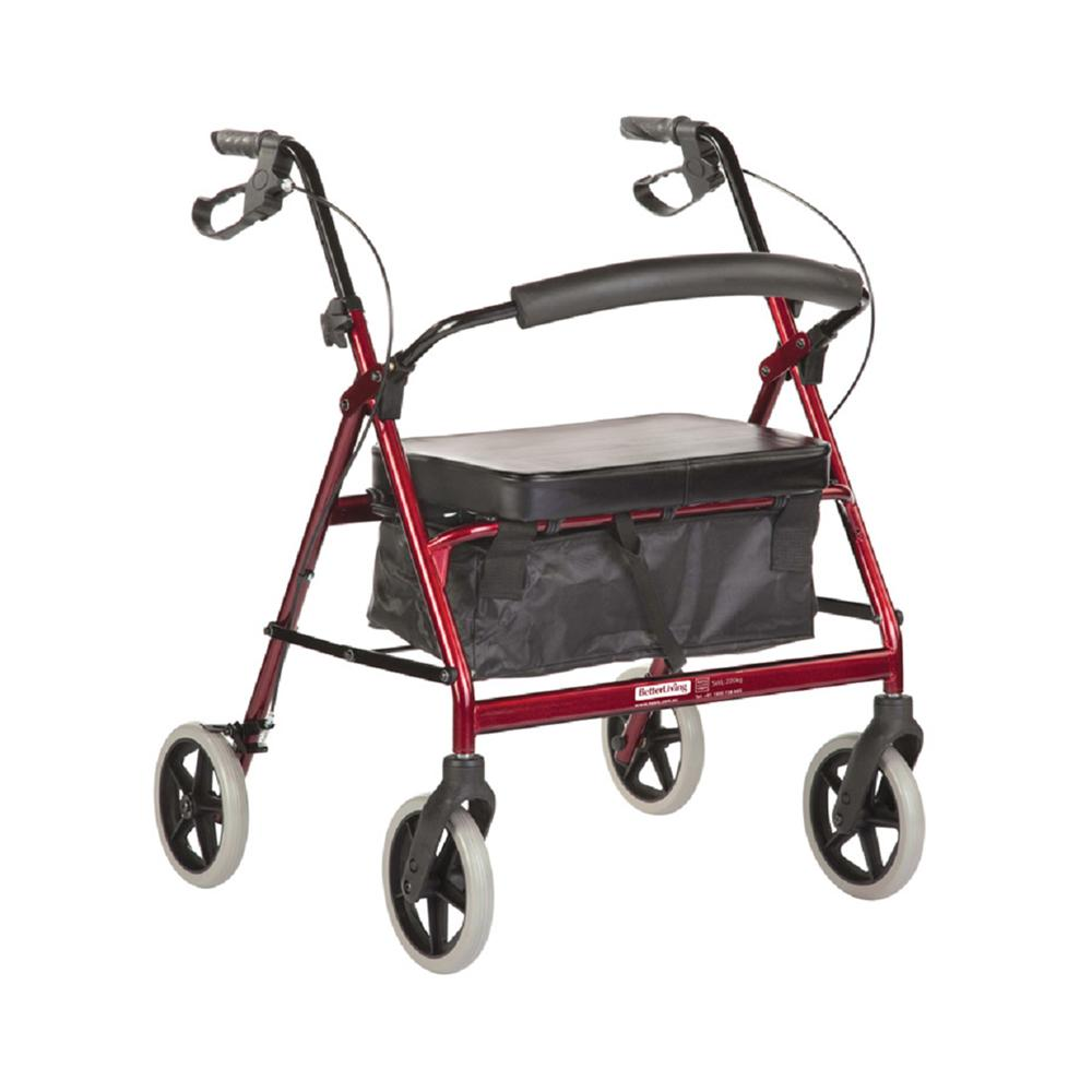 BetterLiving Maxi Plus Wheeled Walker - Novis Healthcare