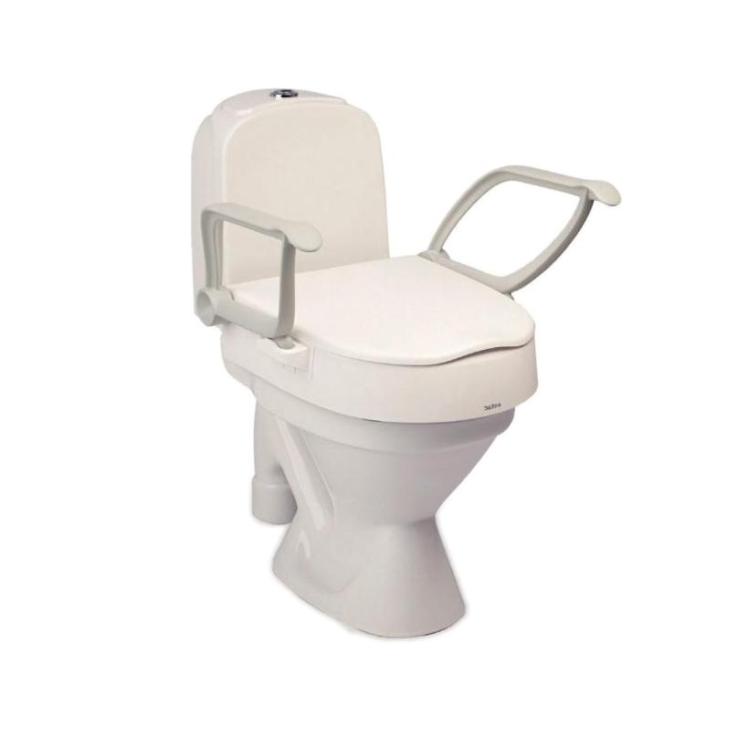 Etac Cloo Toilet Seat Raiser with Armrests - Novis Healthcare
