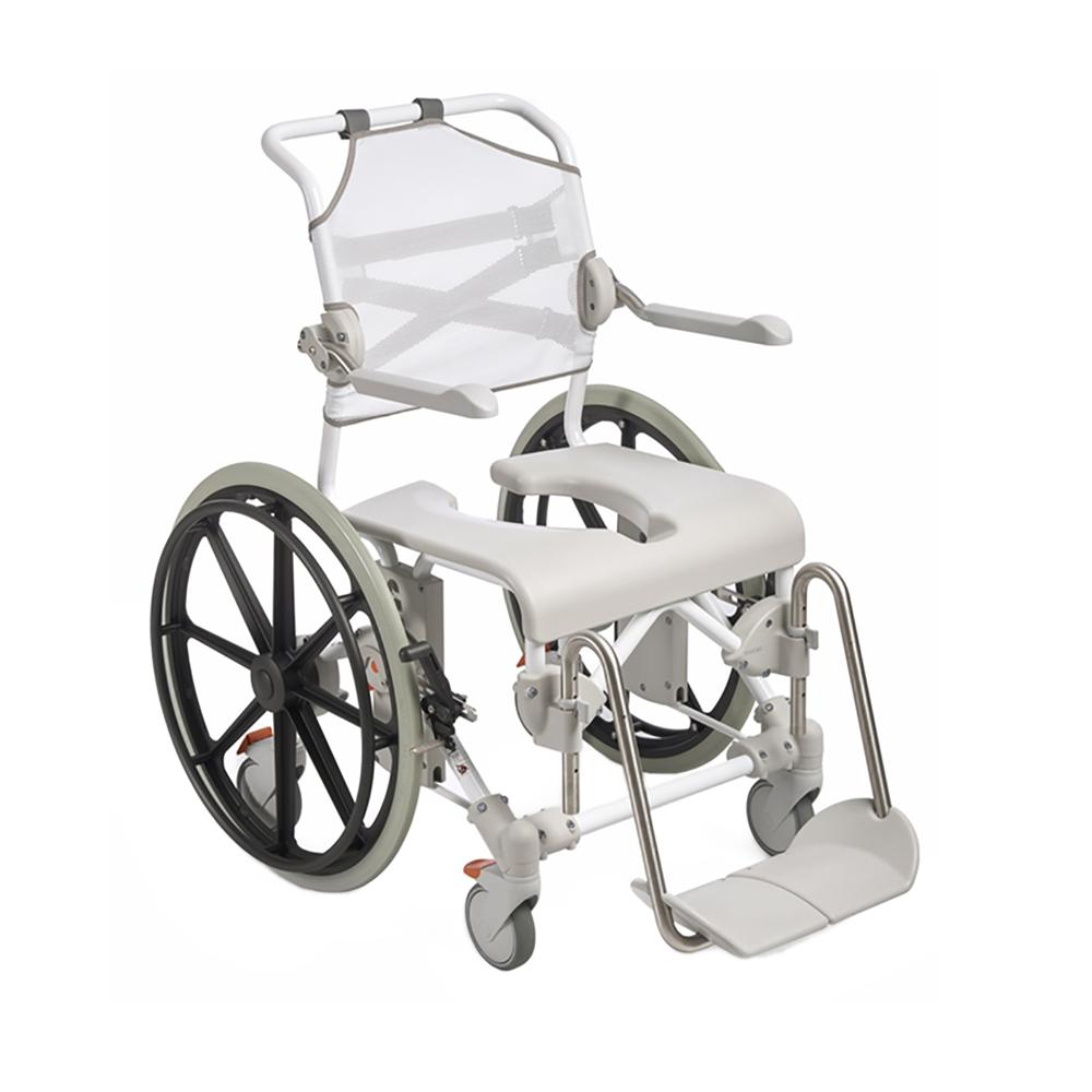 Etac Swift Mobil-2 Self Propelled Shower Commode - Bathroom & Hygiene