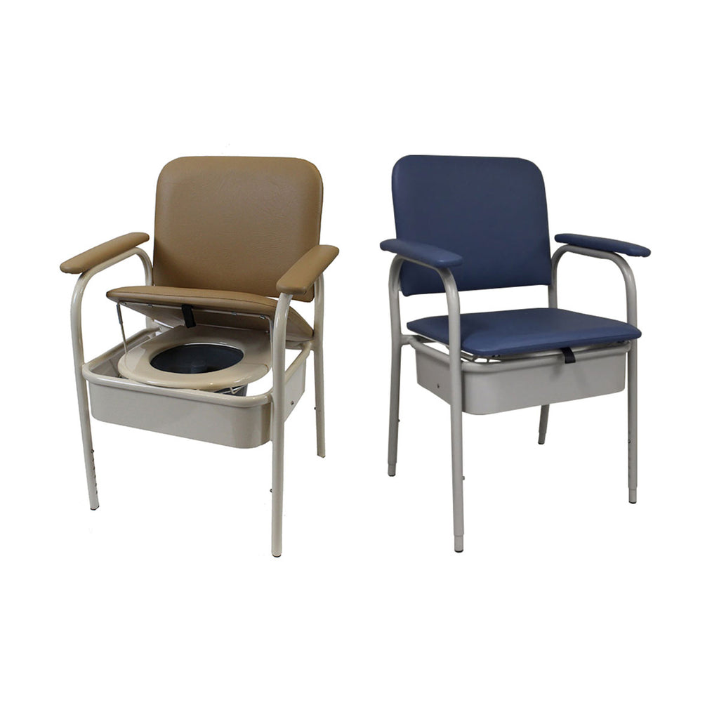 Premium Deluxe Bedside Commode