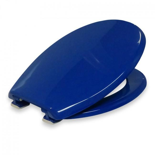 Coloured Toilet Seat - Blue Cognitive Aids