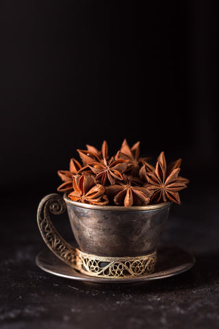 cup of star anise